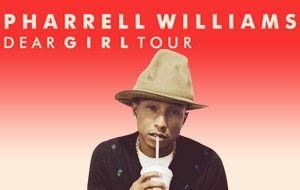 PHARRELL WILLIAMS KONSER BİLETLERİ